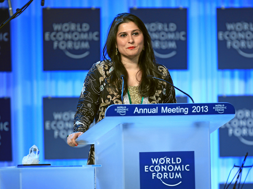 Sharmeen Obaid-ChinoyPhoto Credit: World Economic Forum