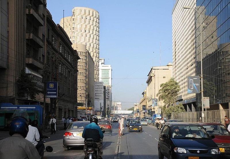 Karachi Financial District Photo: Wikipedia