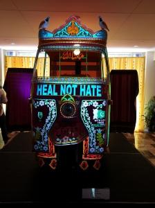 Rickshaw displayed at Pakistan Embassy- Photo Credit: Mohammad Akbar Ali