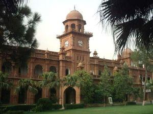 The historic building of Punjab University Photo Wikipedia