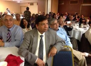 The diverse gathering enjoyed Ustad Tari's performance Photo: MGCT